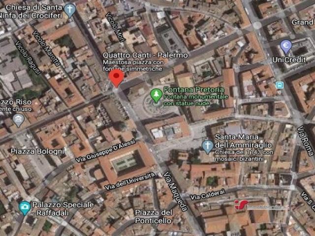 Palermo cielo/terra centro storico